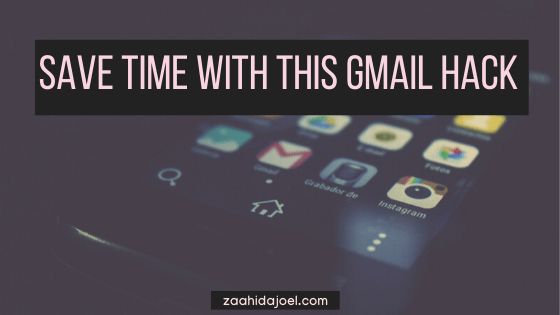 save tons of time with this gmail hack
