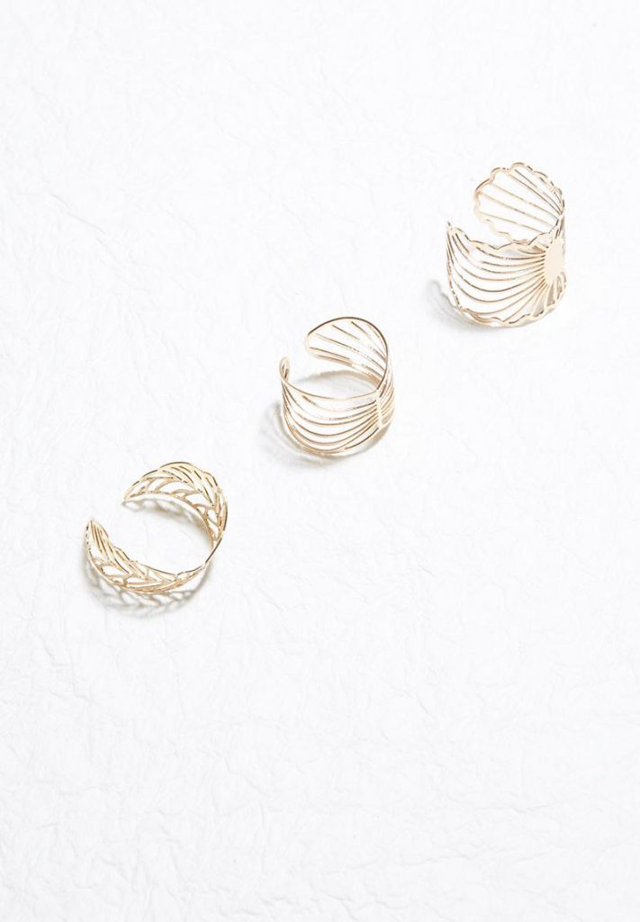 Superbalist Filigree ring set