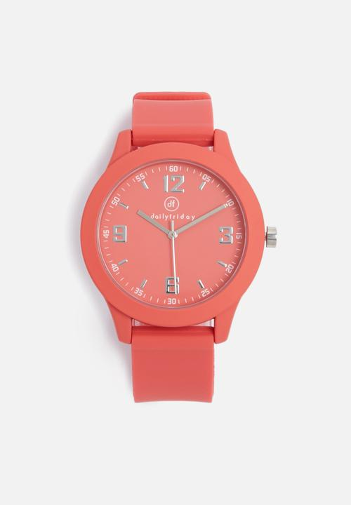 Women's Sports Watch in Salmon