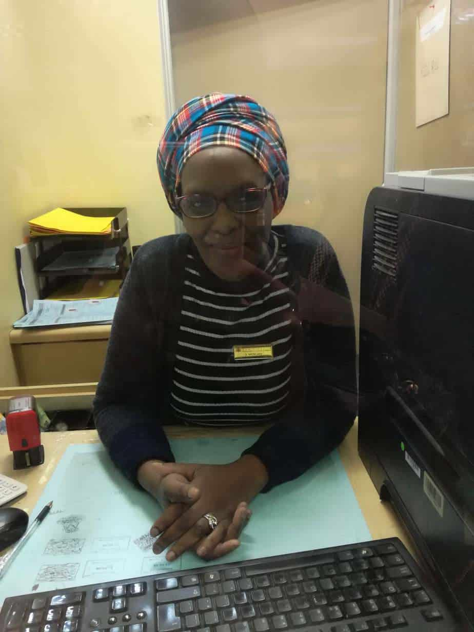 teller from Trafficc Department Port Elizabeth