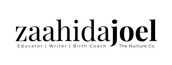 Zaahida Joel - birth coach | the nurture co.